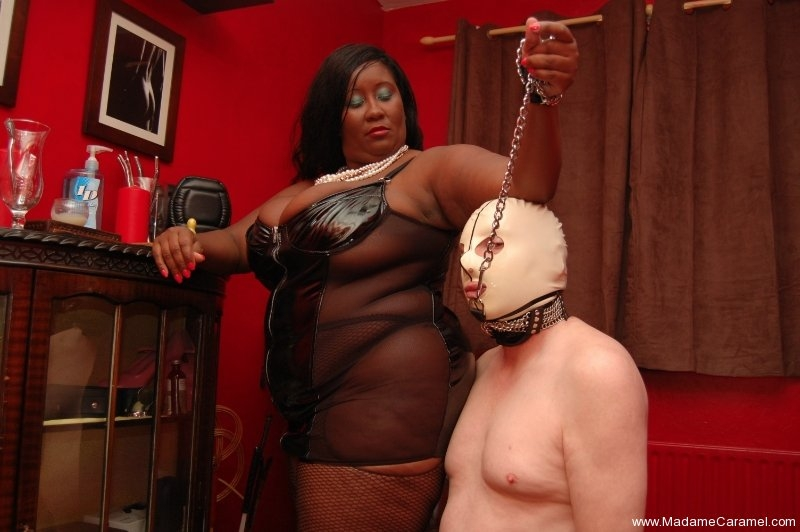Mistress commits from behind with a dildo to the slave - 3 part 10