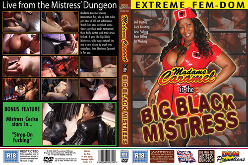 Big Black Mistress with Madame Caramel